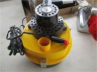 Sprinkler Control Box, Shoe Buffer, Air Pump