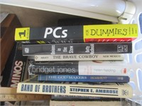 Games, Books, Manuals, Phones Charger