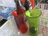 Vases, Dish Rack, Bottles, Mugs, Growlers