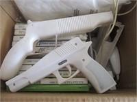 Wii Games, Guns, and Nunchuck