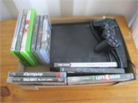 PS3 Console, Games, and Remote