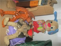 Contents of Shelves, Books, Toys