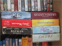 DVD Movies, VHS Movies, CDs, Cassettes