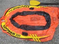 2) Rafts, Paddles, Folding Chairs, Jersey