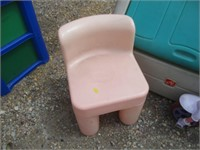 Toy Box, Scooter, Chair