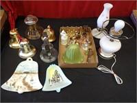 Bell Assortment, Hobnail Lamps