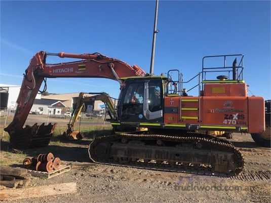 2007 Hitachi ZX470 LCH-3 - Heavy Machinery for Sale