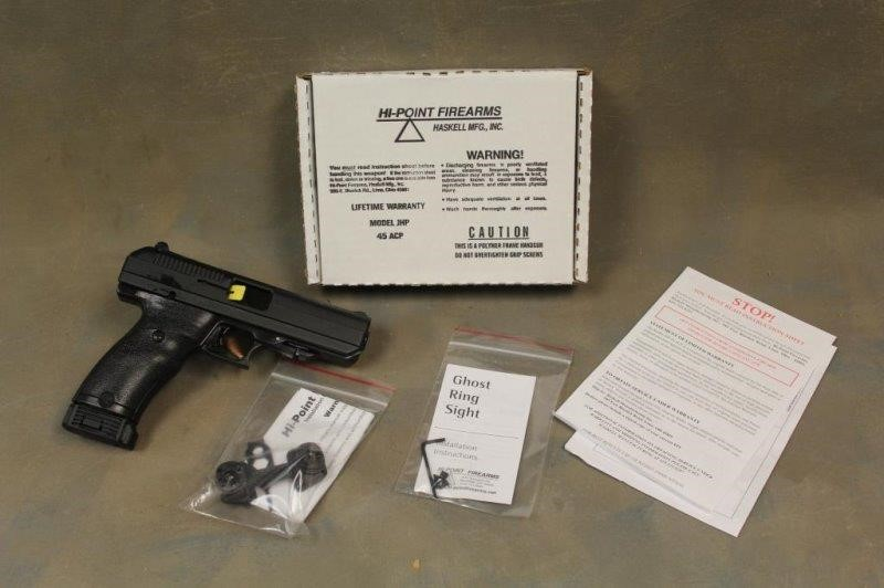 HI-POINT JHP  45 ACP PISTOL X4324726   Smith Sales LLC
