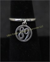 JAMES AVERY STERLING SILVER RING SZ.7.75