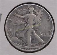 1946 WALKING LIBERTY SILVER HALF DOLLAR