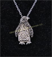 PENGUIN STERLING SILVER NECKLACE