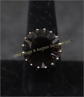 STERLING SILVER STATEMENT RING SZ.8.75