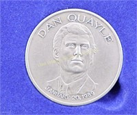 DAN QUAYLE VICE PRESIDENT OF THE UNITED STATES