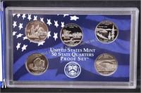 2005 US PROOF SET w COA