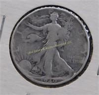 1940 WALKING LIBERTY SILVER HALF DOLLAR