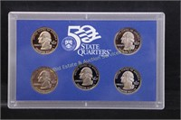 1999 US 50 STATE QUARTERS PROOF SET w COA