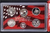 2004 US SILVER PROOF SET w COA