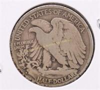 1934-S WALKING LIBERTY SILVER HALF DOLLAR