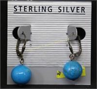 NEW..STERLING SILVER DANGLE EARRINGS