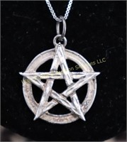 STERLING SILVER WICCAN NECKLACE