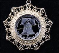 1776-1976 LASER CUT NECKLACE