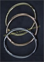 TRI COLOR BANGLE BRACELET SET