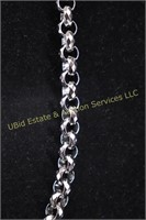 CHAIN LINK STAINLESS STEEL NECKLACE