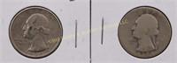 1934-D/35-D WASHINGTON SILVER QUARTERS
