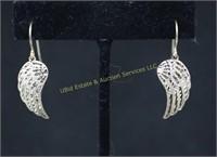 ANGEL STERLING SILVER EARRINGS
