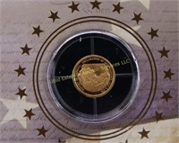 "14kt AMERICAN MINT ""BIRTH OF OUR NATION TRIBUTE"""