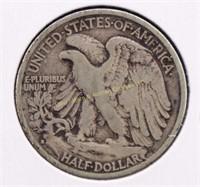 1935-S WALKING LIBERTY SILVER HALF DOLLAR