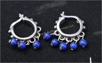 ESTATE COLLECTION OF VARIOUS STERLING EARRINGS