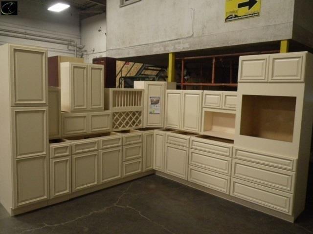Biltmore Pearl Kitchen Cabinet Set 10, Biltmore Pearl Kitchen Cabinets