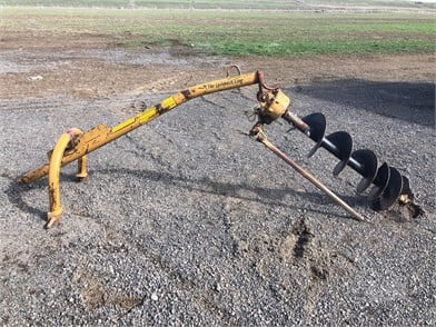 LEINBACH POST HOLE AUGER Other Auction Results In Washington