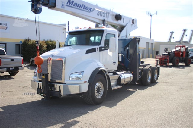 2019 MANITEX 3051T MOUNTED ON 2019 KENWORTH T880 For Sale In