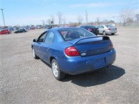 2003 CHRYSLER NEON 131150 KMS