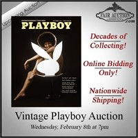 Vintage Playboy Online Auction