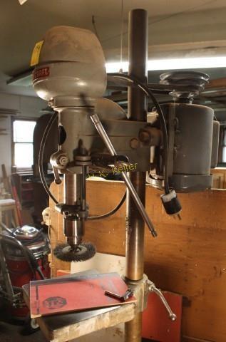 Delta/Rockwell Drill Press and Bench | H  K  Keller