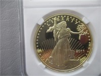 2011 Liberty Coin (Authenticity Not Verified)