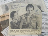 Vintage Newspaper Articles (1918, 1944, 1988)