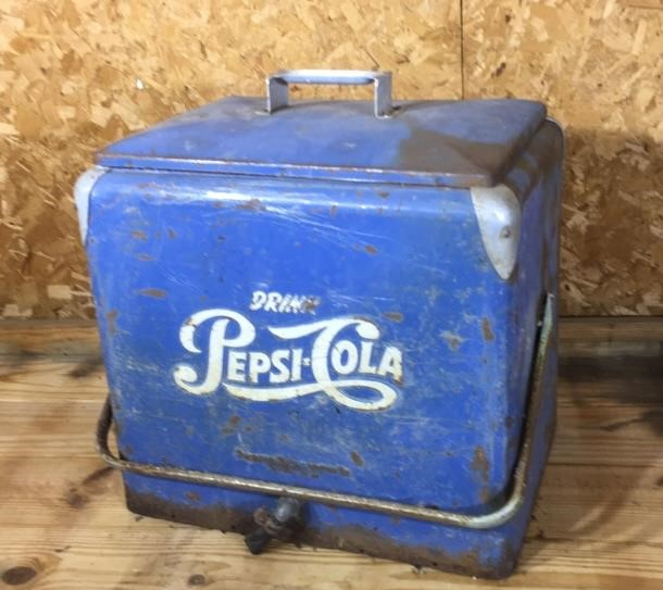 Antique Pepsi-Cola cooler | Northern Kentucky Auction LLC