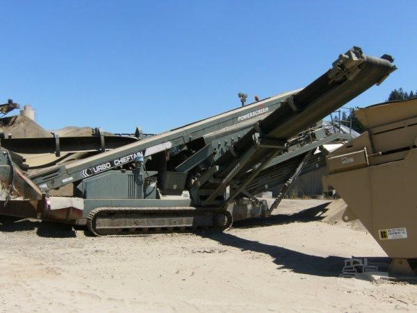 2007 POWERSCREEN CHIEFTAIN 1800 For Sale In Moreno Valley, California