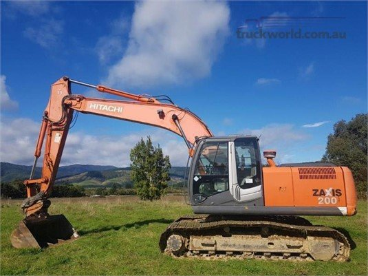 0 Hitachi ZX200-3 - Heavy Machinery for Sale