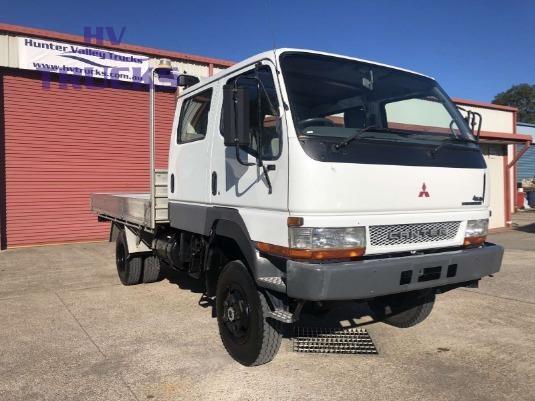 2004 Mitsubishi Canter 4x4 Crew Hunter Valley Trucks - Trucks for Sale