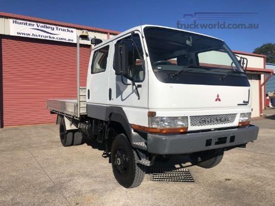 2004 Mitsubishi Canter 4x4 Crew Trucks for Sale