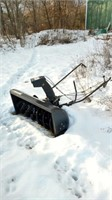 snow blower attachment for a cub cudet