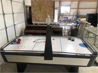 Sportcraft air hockey table, full size works well