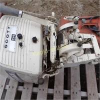 14.1 HP Fleet Scott Outboard Motor