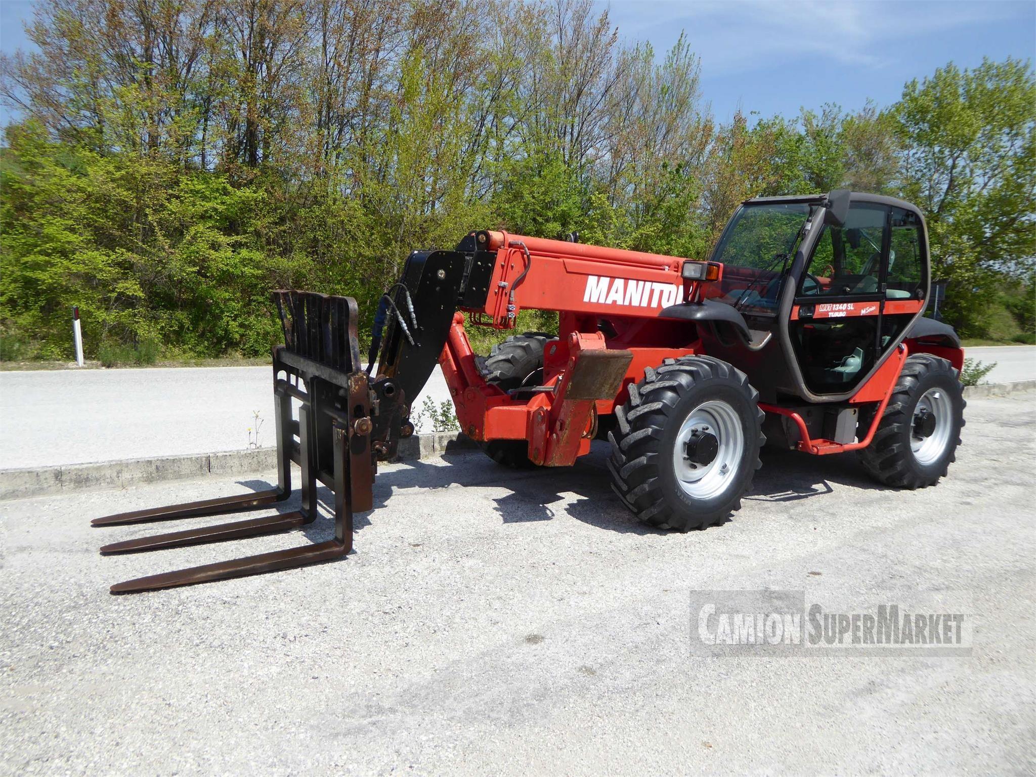 Manitou MVT1340L Usato 2010