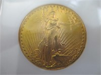 1927 Double Eagle Gold Coin, Uncirculated